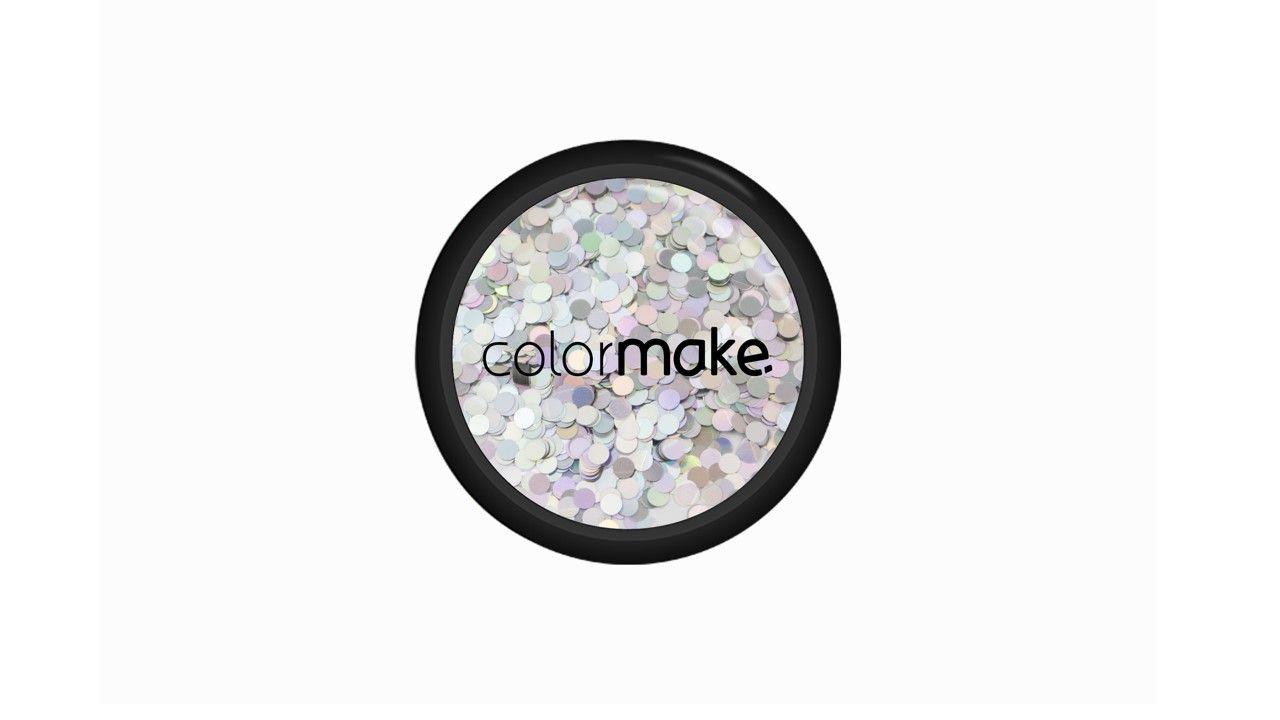 Glitter Ponto Prata Holográfico 2g
