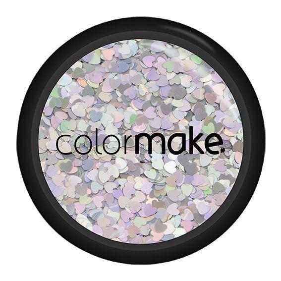 Glitter Coração Holográfico Colormake