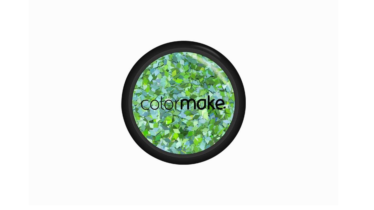 Glitter Diamante Verde Holográfico
