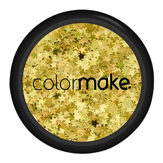 Glitter Estrelas Holográfico Colormake