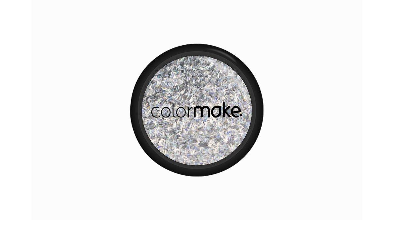 Glitter Filete Prata Holográfico