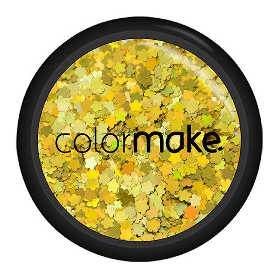 Glitter Flor Holográfico Colormake 2g