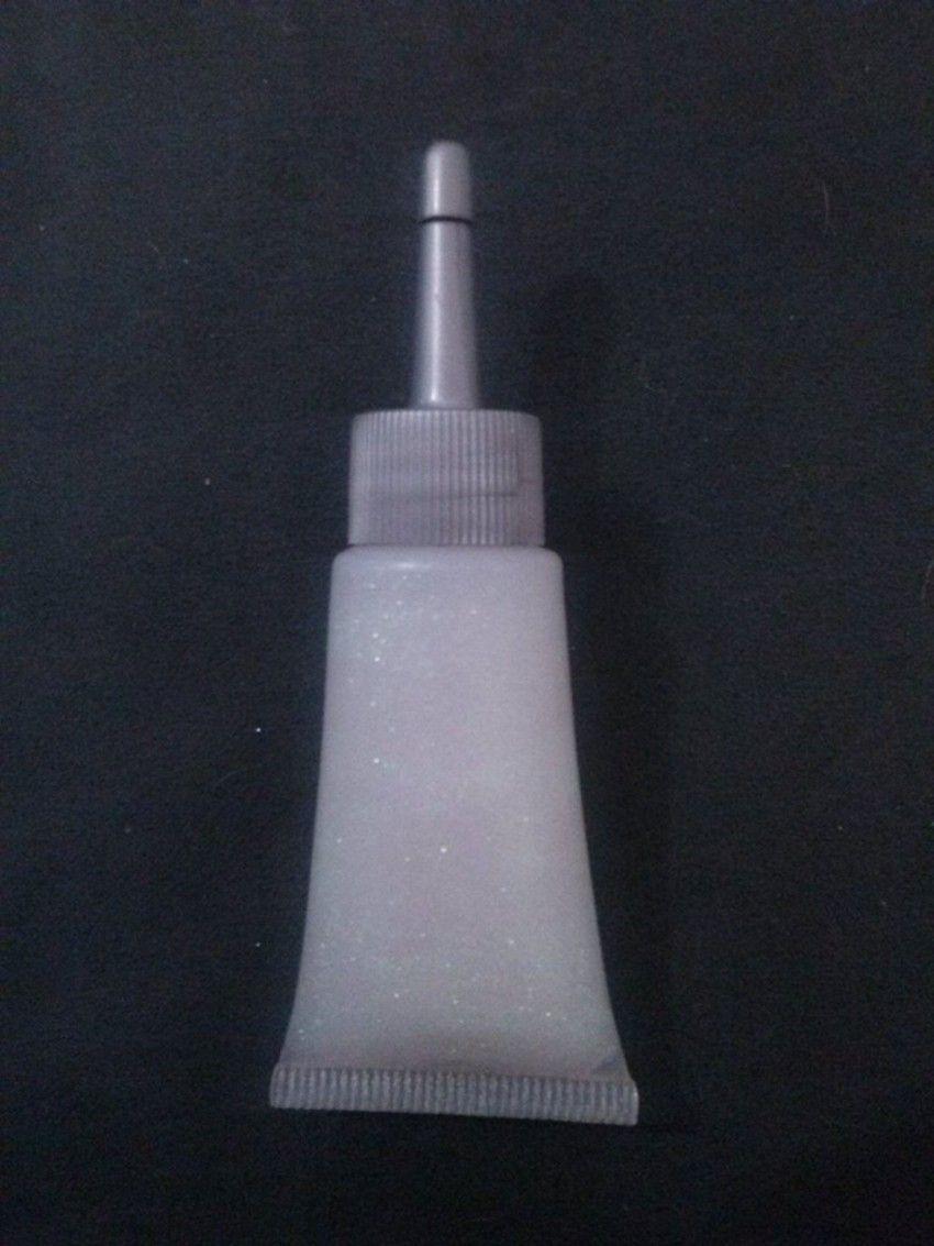 Glitter gel Branco - 20ml com bico aplicador