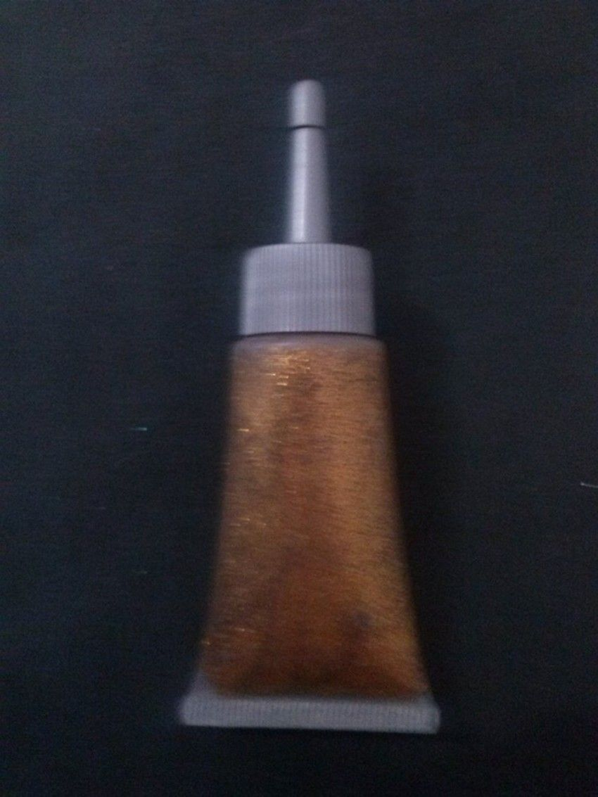 Glitter gel dourado - 20ml com bico aplicador