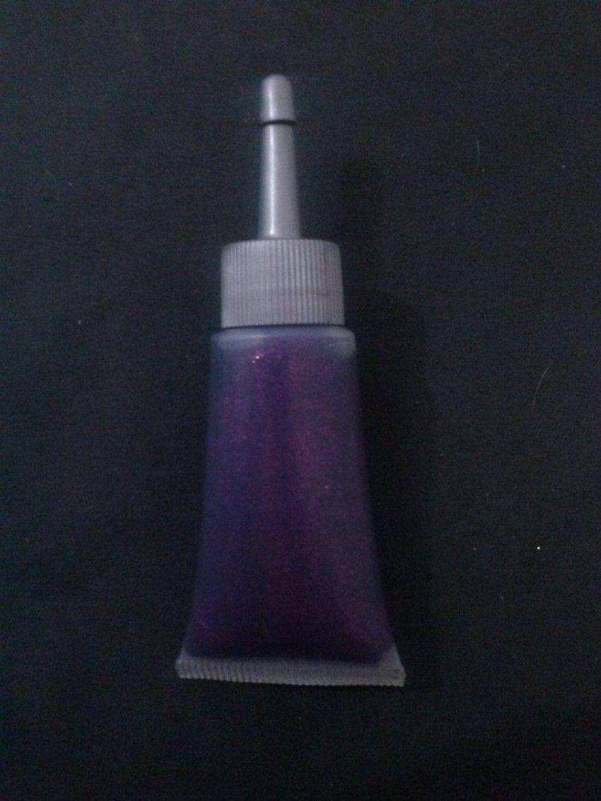 Glitter gel Roxo - 20ml com bico aplicador