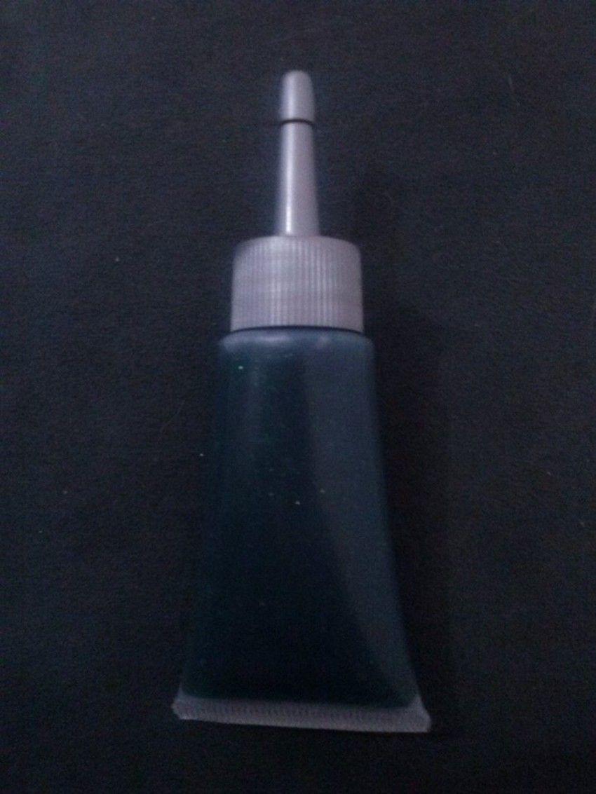 Glitter gel verde - 20ml com bico aplicador