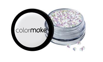 Glitter Shine 3D Color Make Perola Vermelho