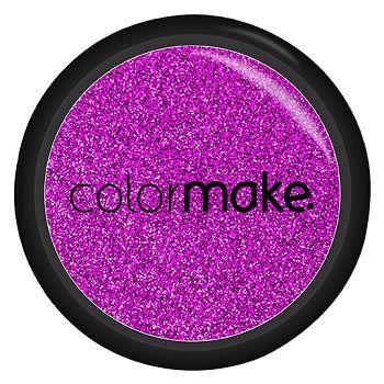 Glitter Shine em Pó Color Make Pink