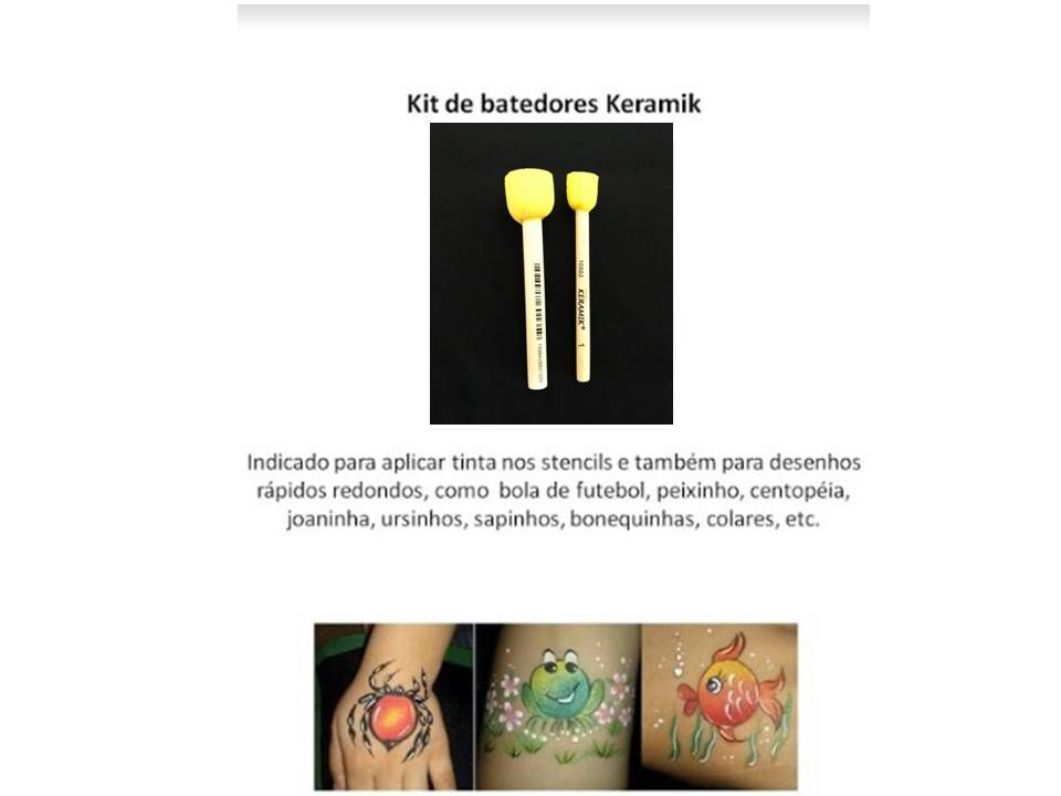 Kit c/ 2 batedores Keramik