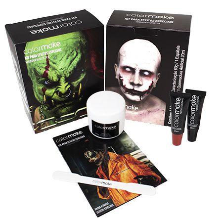 Kit Maquiagem Cenográfica Profissional (Colormake)