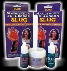 Kit maquiagem de terror Slug