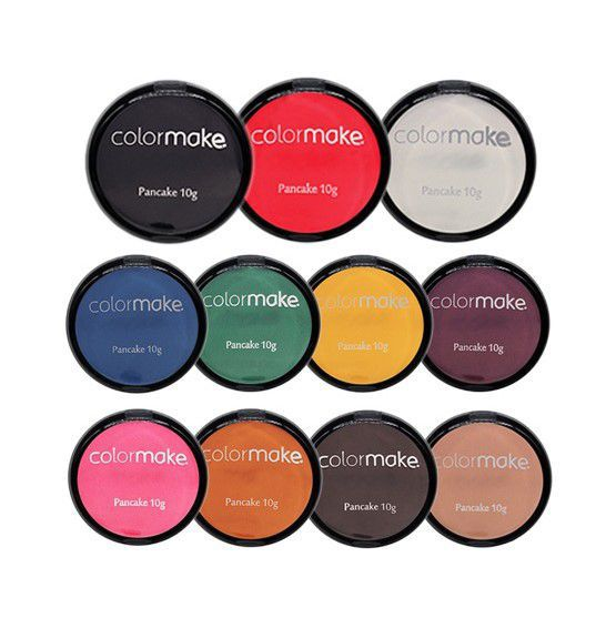 Kit Pancake 10g Colormake (Todas as cores)