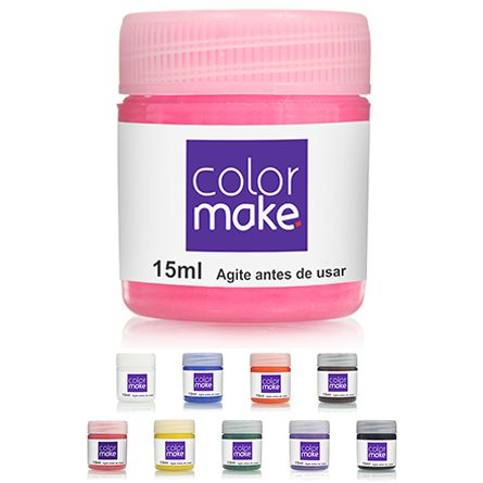 Kit Tinta Líquida 15ml Colormake (Todas as cores - 10un)