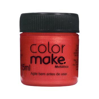 Kit Tinta Liquida Metálica 15ml Colormake (Todas as cores)