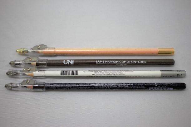 Lápis de olho + apontador