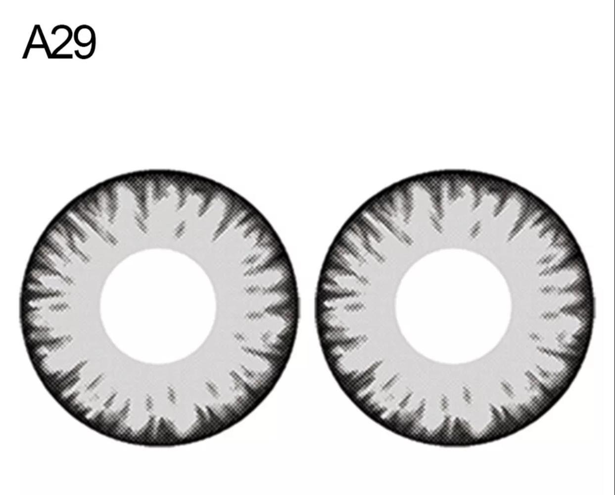 Lente de contato Cinza (A29)