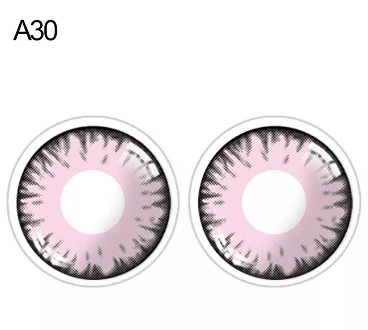 Lente de contato Rosa (A30)