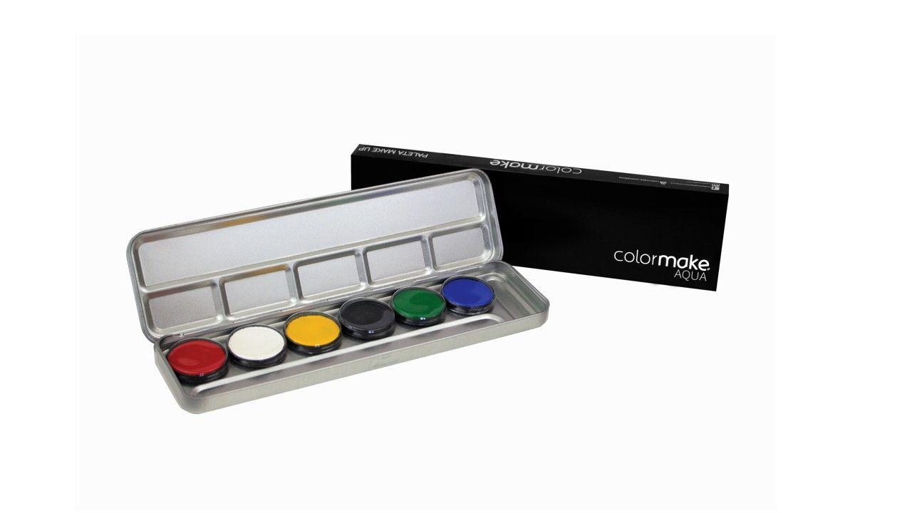 Paleta Aqua Colormake Cores Primarias 5050