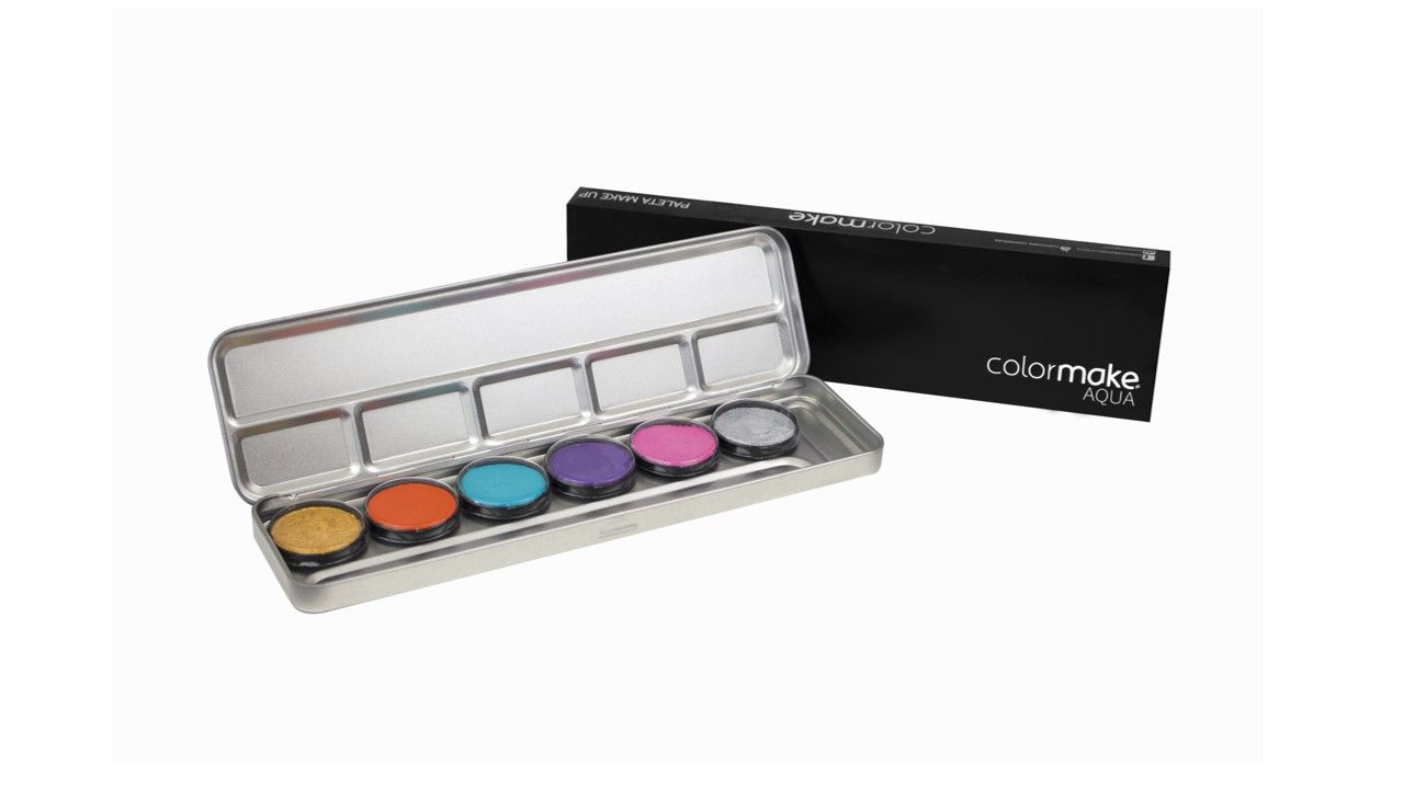 Paleta Aqua Colormake Cores secundárias 5051