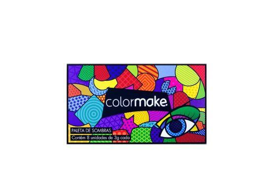 Paleta Paleta de Sombras Color Make 8 Cores