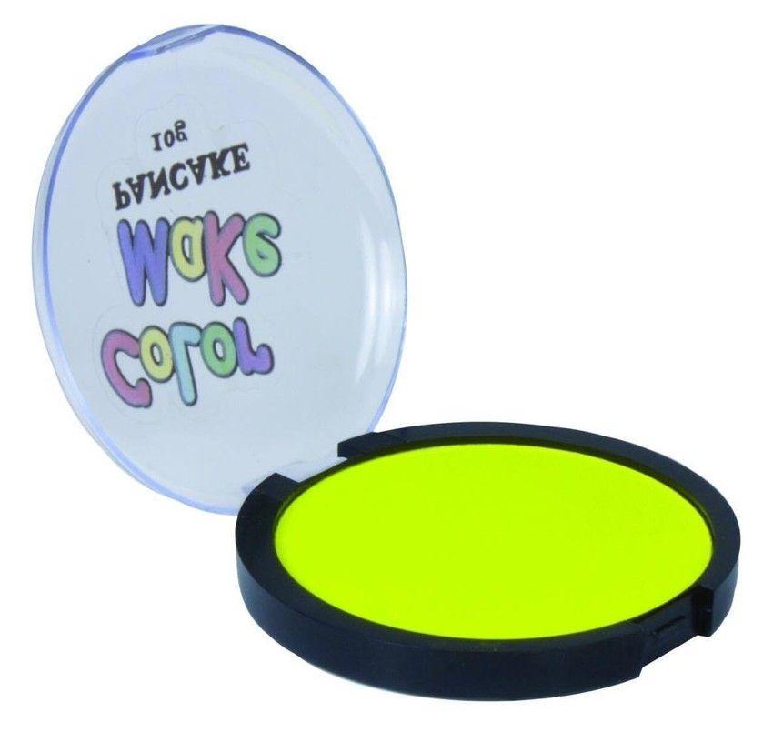 Pancake Amarelo Fluor 10g (Colormake)