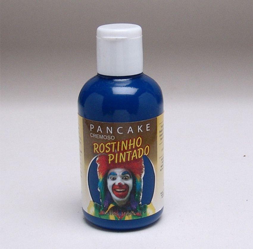 Pancake Cremoso Azul 90gr (Rostinho Pintado/Lary)