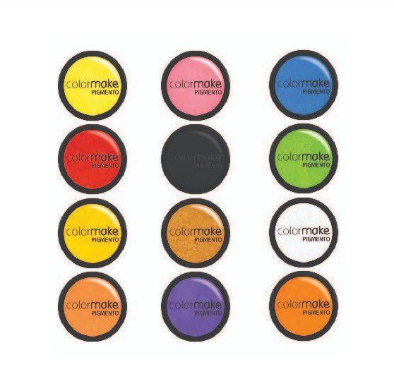 Pigmento Pó Micronizado Flúor (neon) Colormake 2g