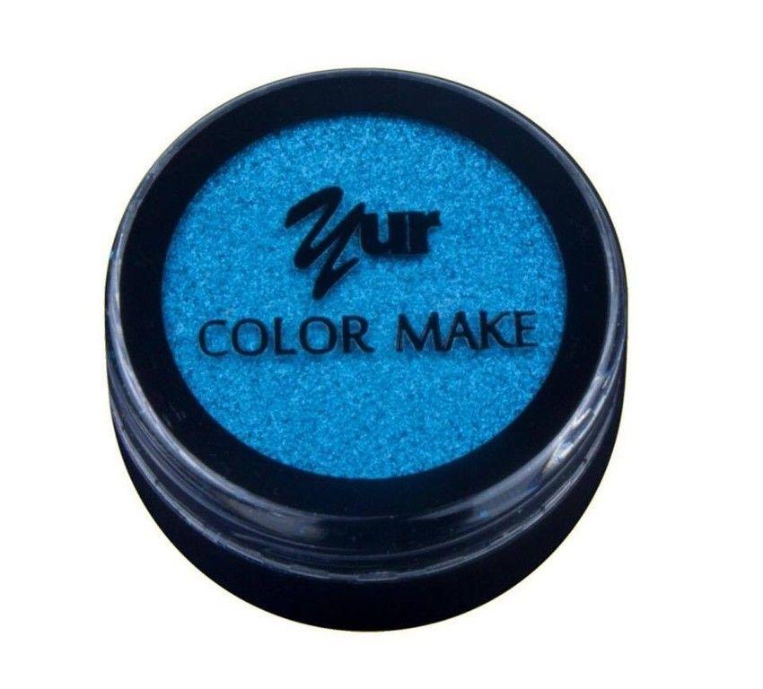 Sombra Iluminadora Color Make Azul 2g