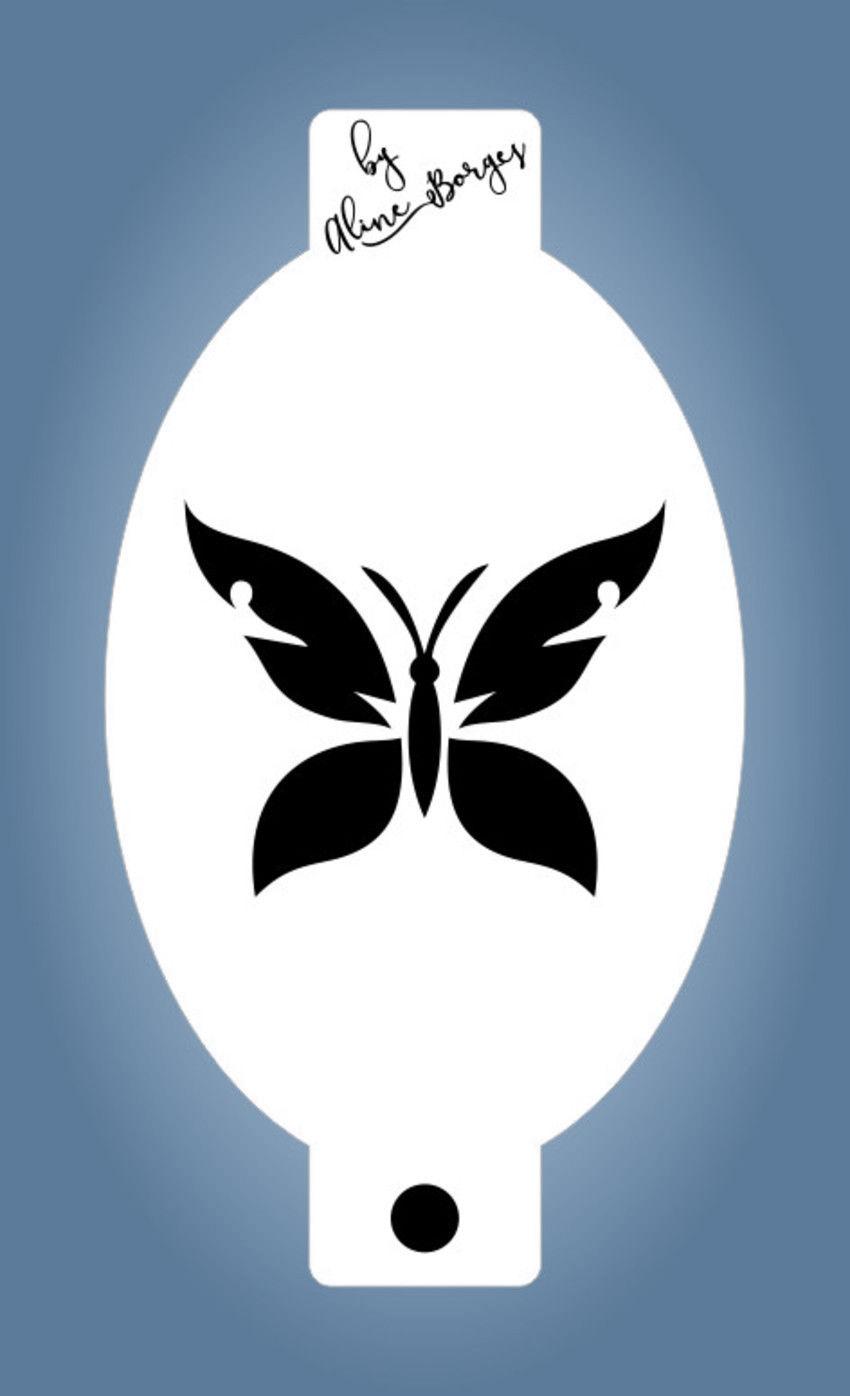 Stencil Borboleta