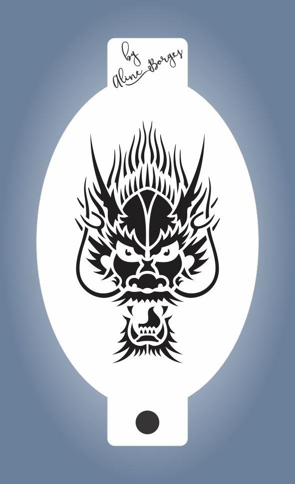 Stencil  Dragão 2