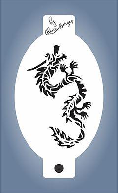 Stencil  Dragão