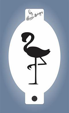 Stencil  Flamingo