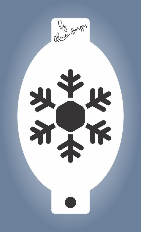 Stencil Floco de Neve G2