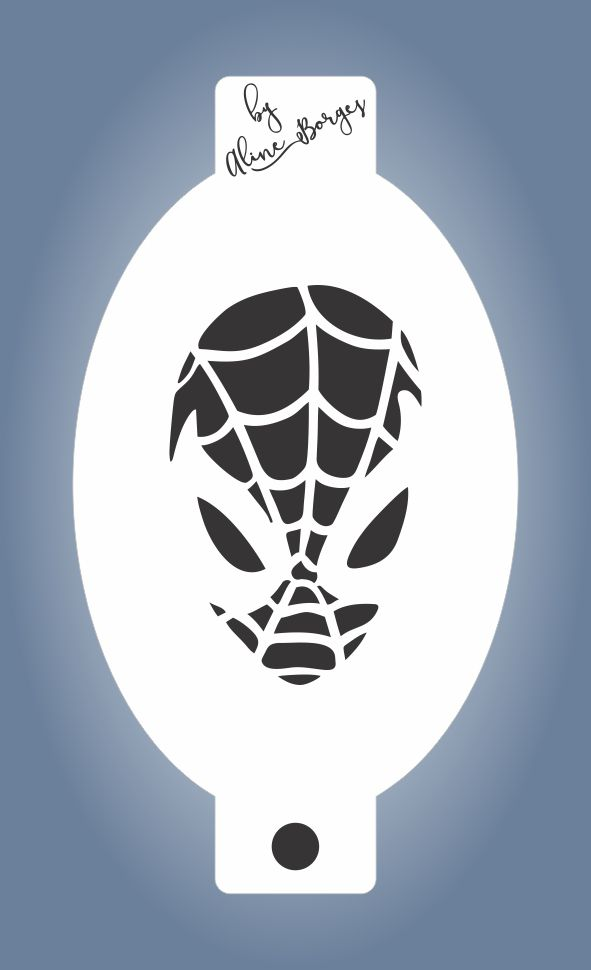 Stencil  Homem Aranha