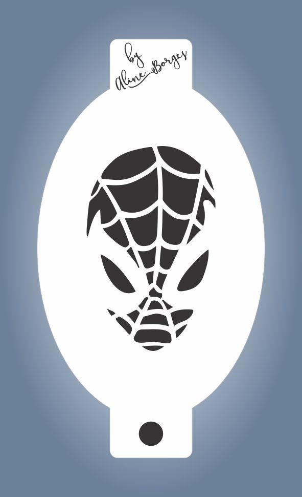 Stencil  Homem Aranha 2