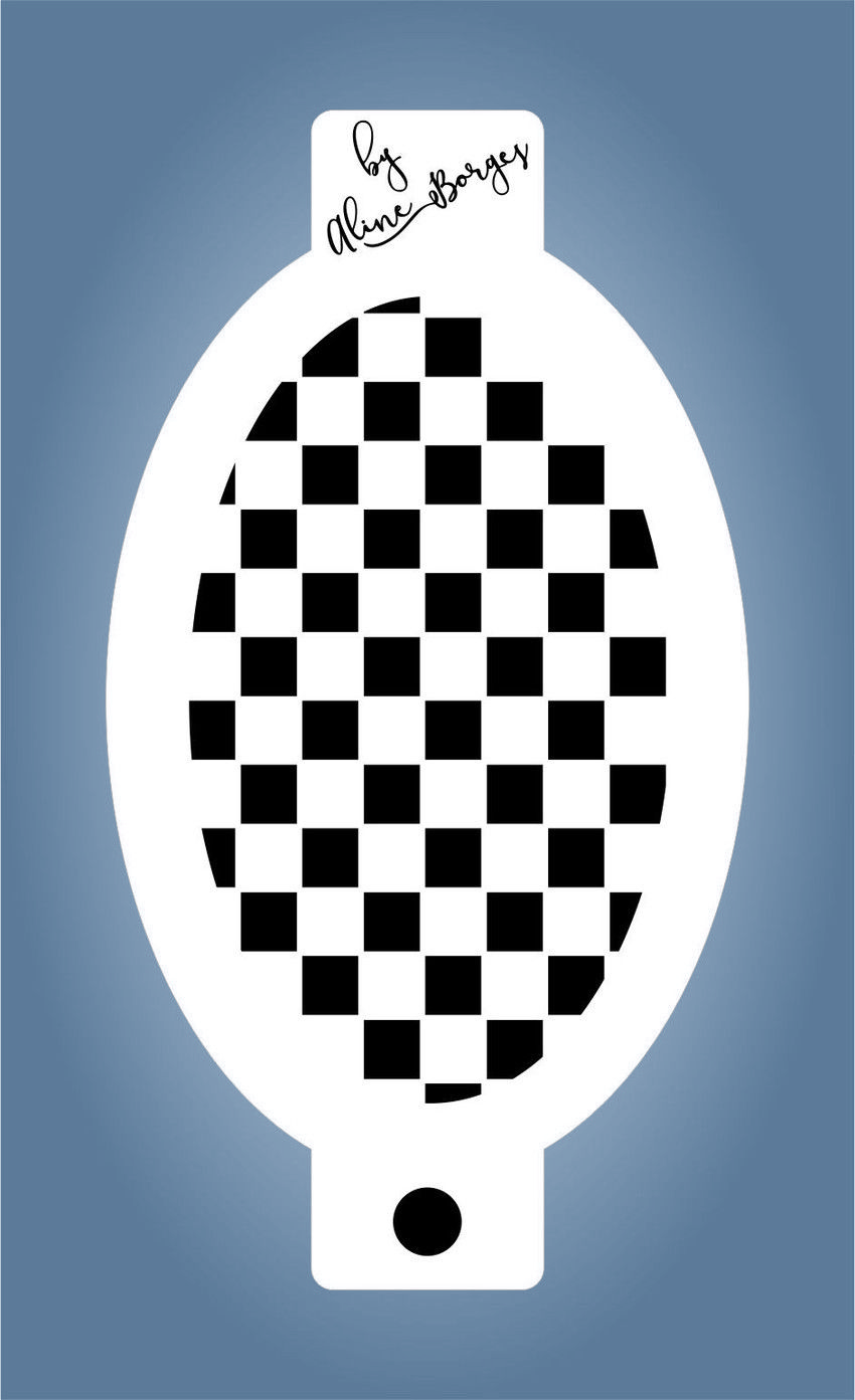 Stencil Quadriculado