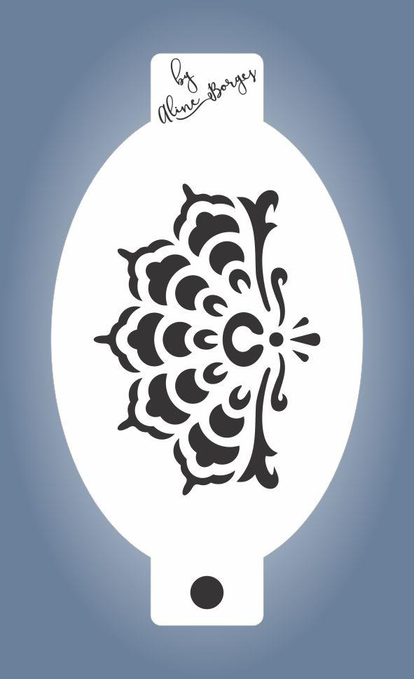 Stencil  Renda 1