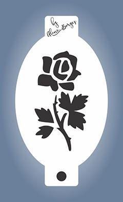 Stencil  Rosa