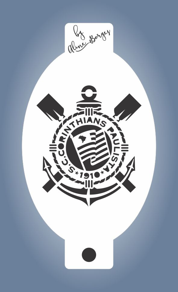 Stencil Time Corinthians