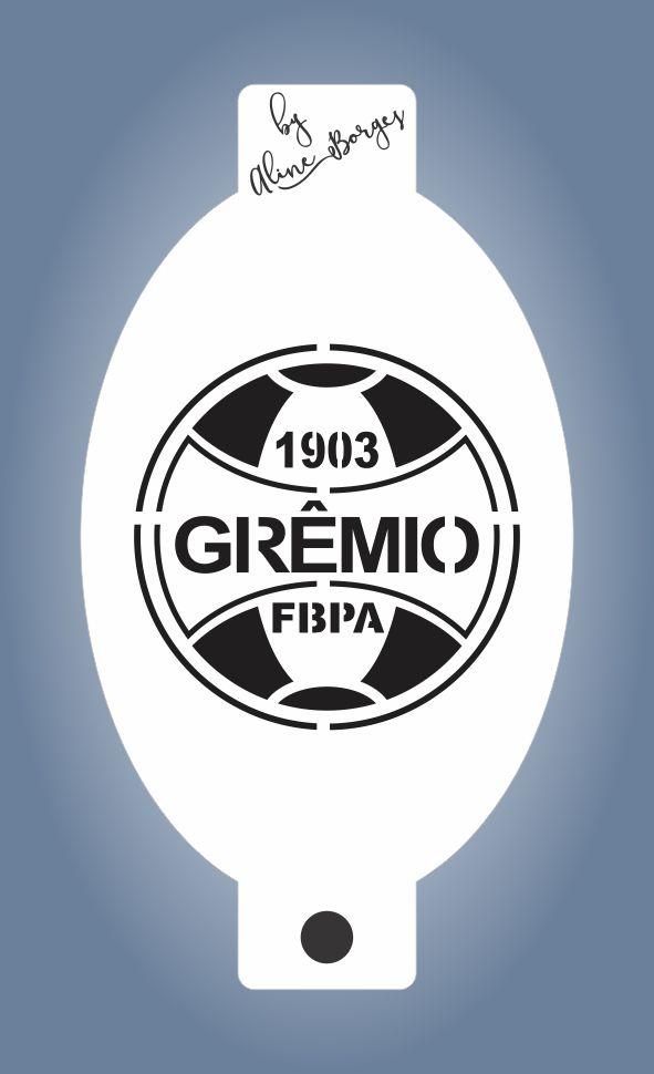 Stencil Time Grêmio