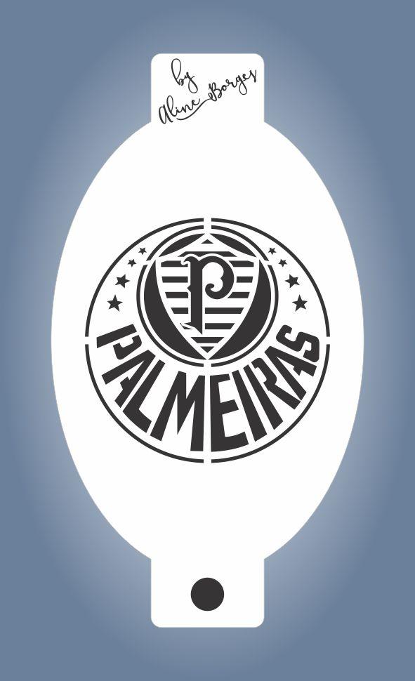 Stencil Time Palmeiras