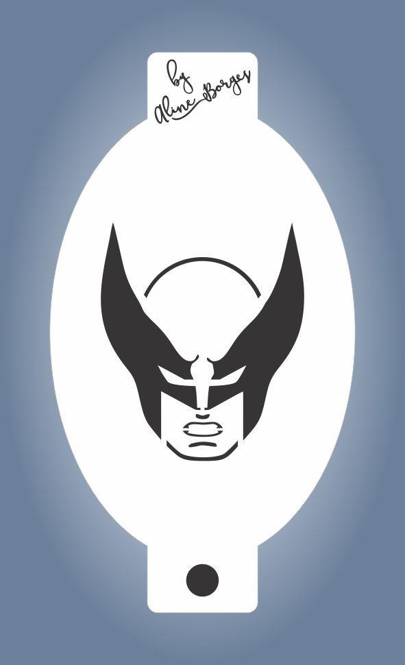 Stencil  Wolverine
