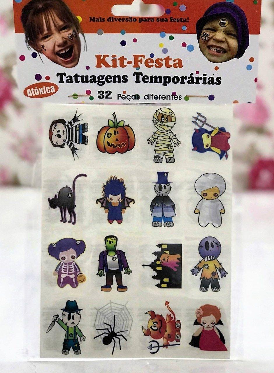 Tatuagens Temporárias 32 pçs - Halloween Baby