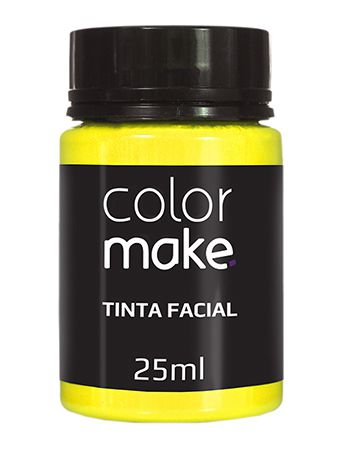 Tinta Líquida Amarela 25ml Color Make
