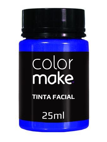 Tinta Liquida Azul Escuro 25ml Color Make