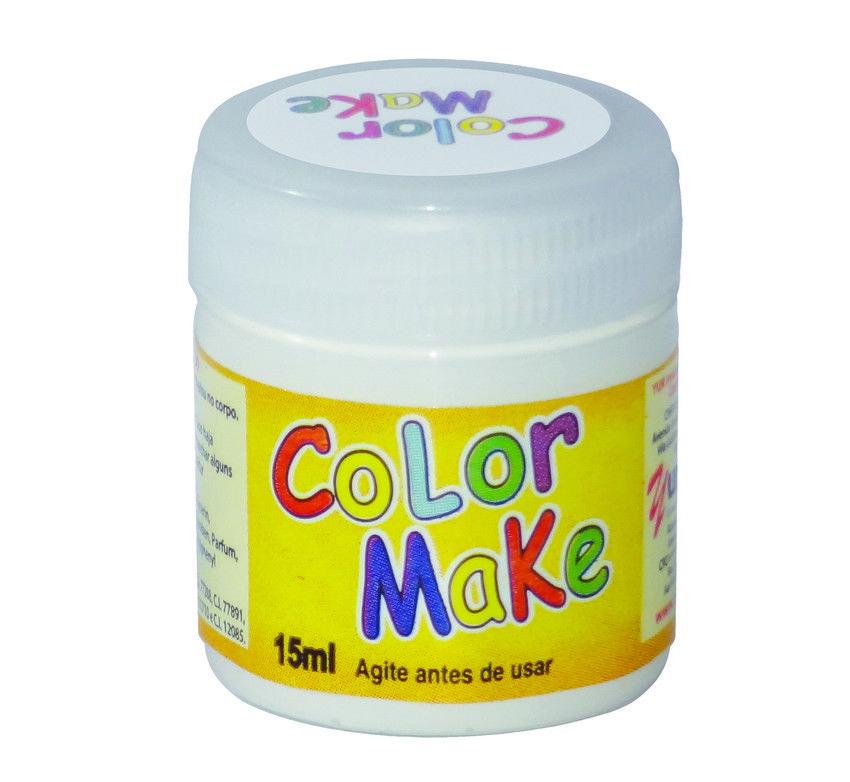 Tinta Liquida Branca 15ml Color Make