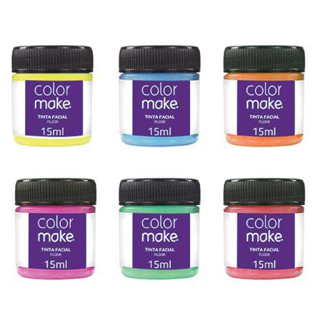 Tinta Líquida Flúor (neon) - Colormake 15ml