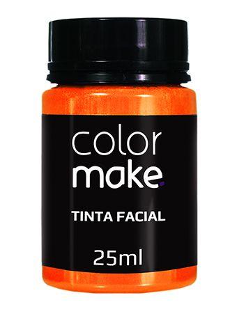 Tinta Líquida Laranja 25ml Color Make