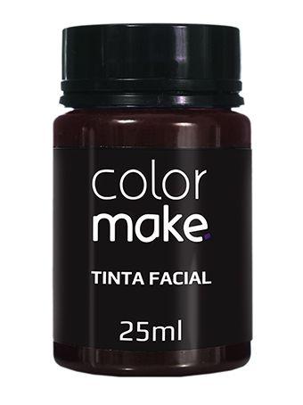 Tinta Líquida Marrom 25ml Color Make