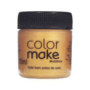 Tinta Liquida Metálica  15ml Colormake